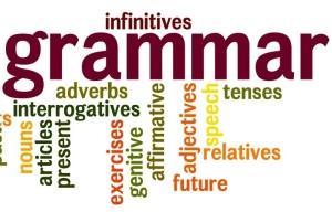 correction of grammar in english