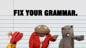 how to fix my english grammar